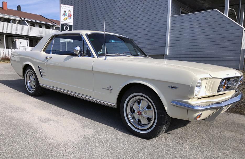302-1966 Ford Mustang HT 01. Eier- medlem 302 Øyst