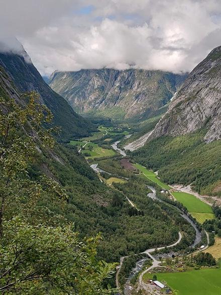 Lørdag 21. august, avdeling Midt har tur langs den spektakulære Aursjøveien fra Sunndalsøra til Eikesdalen