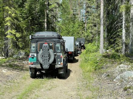 Avdeling østs tradisjonelle sommertreff i de svenske skoger ble i år også byttet ut med tur på norsk side. Vi samlet oss på Sjøstrand Camping, rett sør for Kongsvinger, hvor vi skulle nyte tilværelsen - for både store og små.
