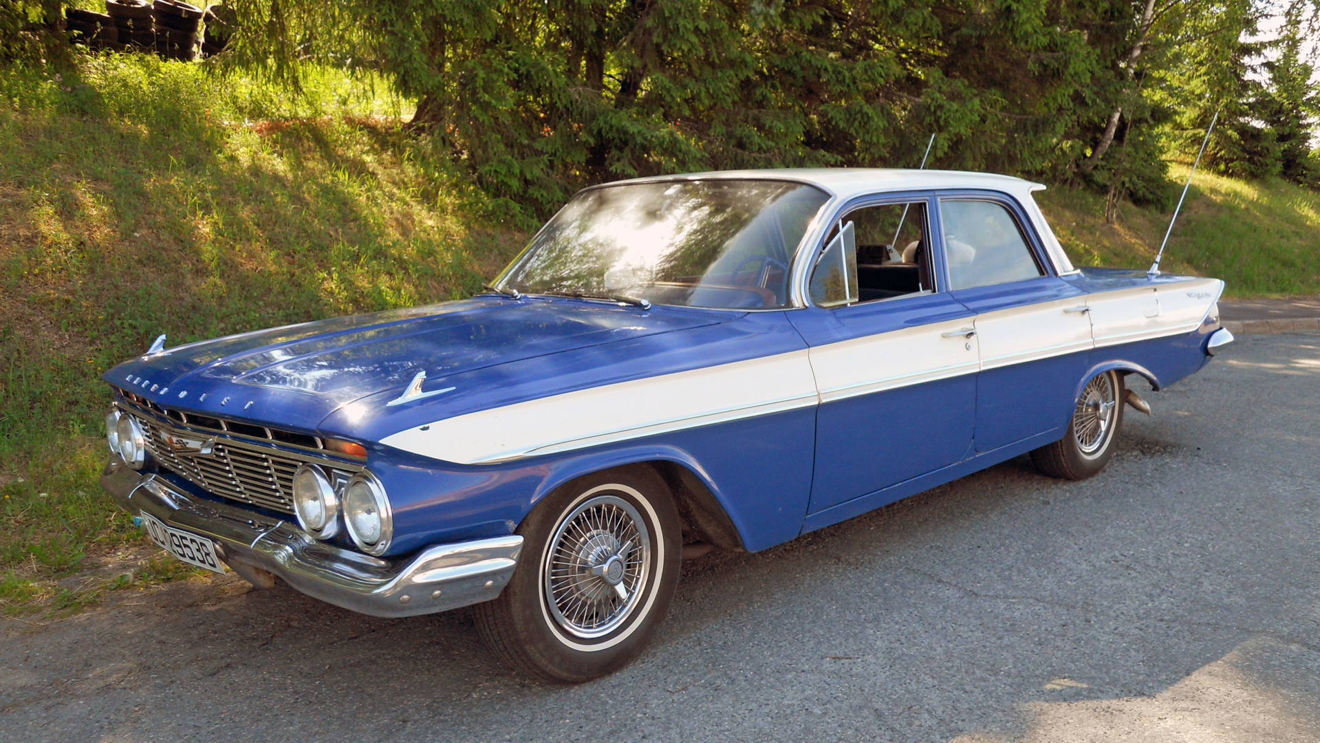 131-1961 Chevrolet Bel Air 01. Eier- medlem 131 Fa
