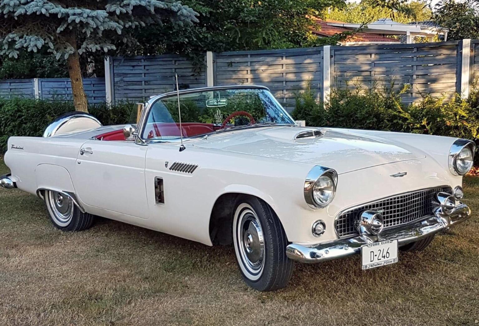 350-1956 Ford Thunderbird 01. Eiere- medlem 350 Ju