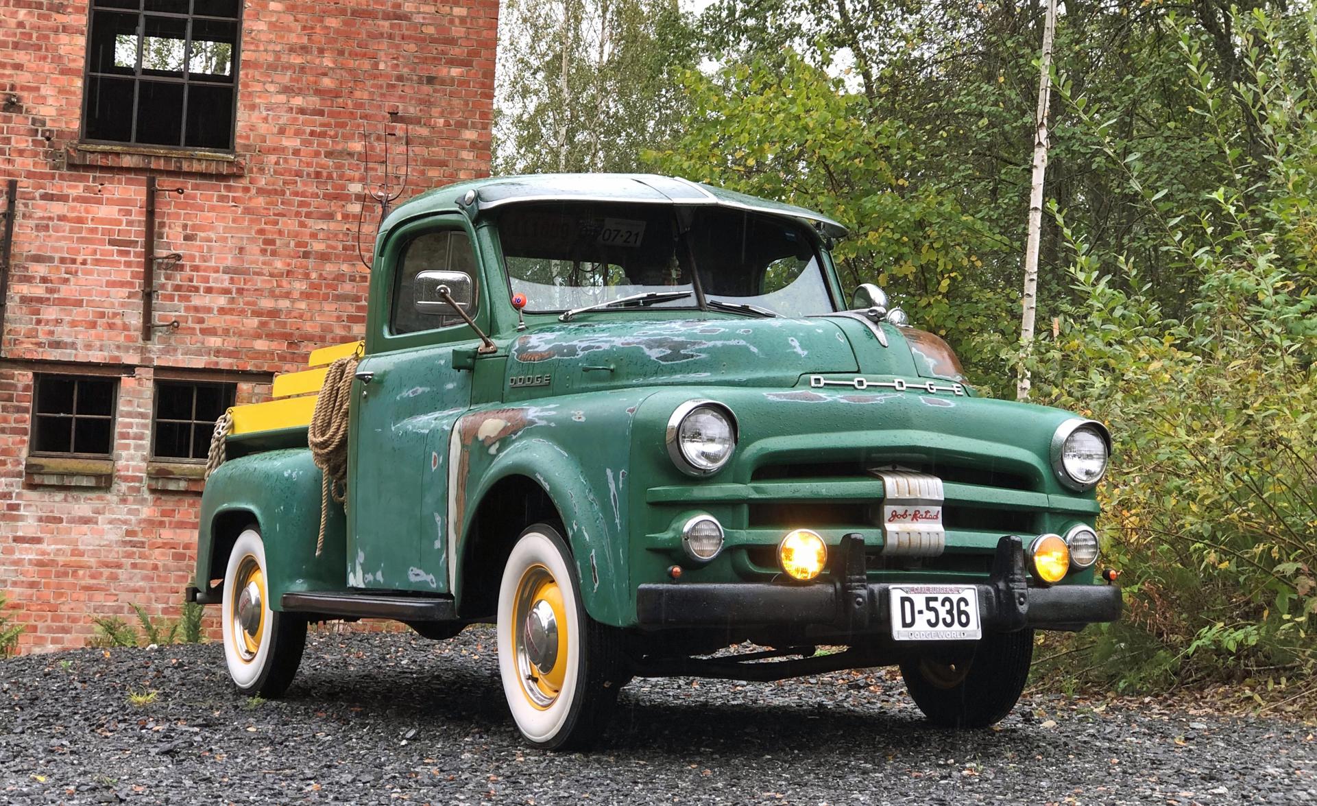 351-1953 Dodge B4B 0,5 t pickup 02. Eier- medlem 3