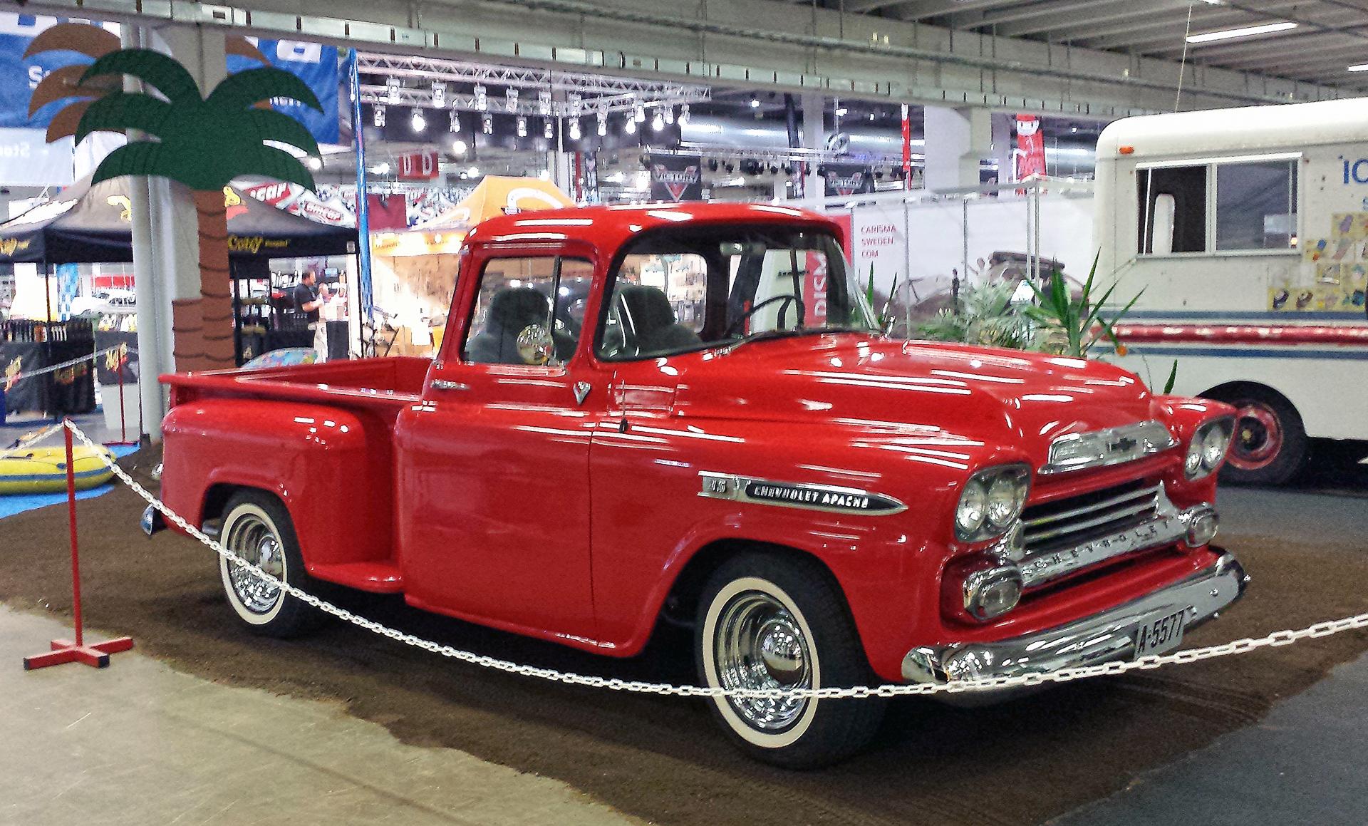 118-1958 Chevrolet Apache 01. Eier- medlem 118 Bjø