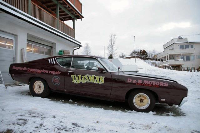 177-1969 Ford Torino Talladega 428 CJ 01. Eiere- m