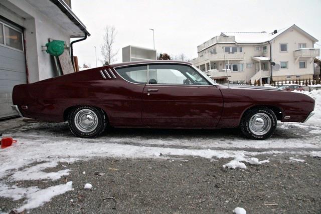 177-1969 Ford Torino Talladega 428 CJ 02. Eiere- m
