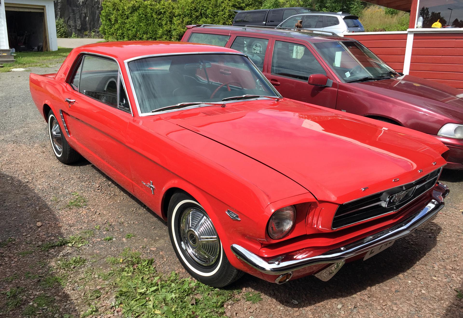 184-1965 Ford Mustang Coupe 01. Eier- medlem 184 I