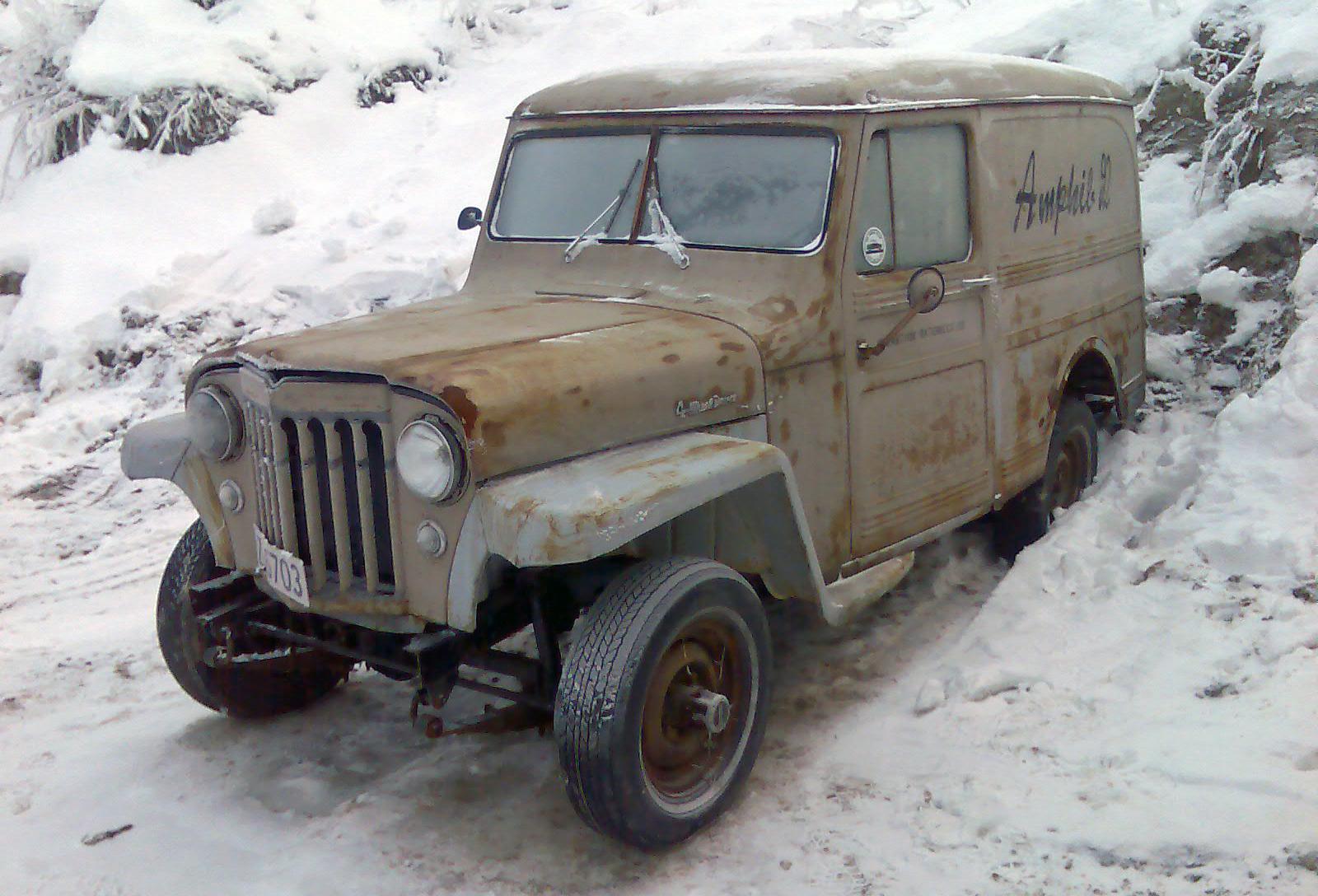 195-1956 Willys Delivery 01. Eier- medlem 195 Roge