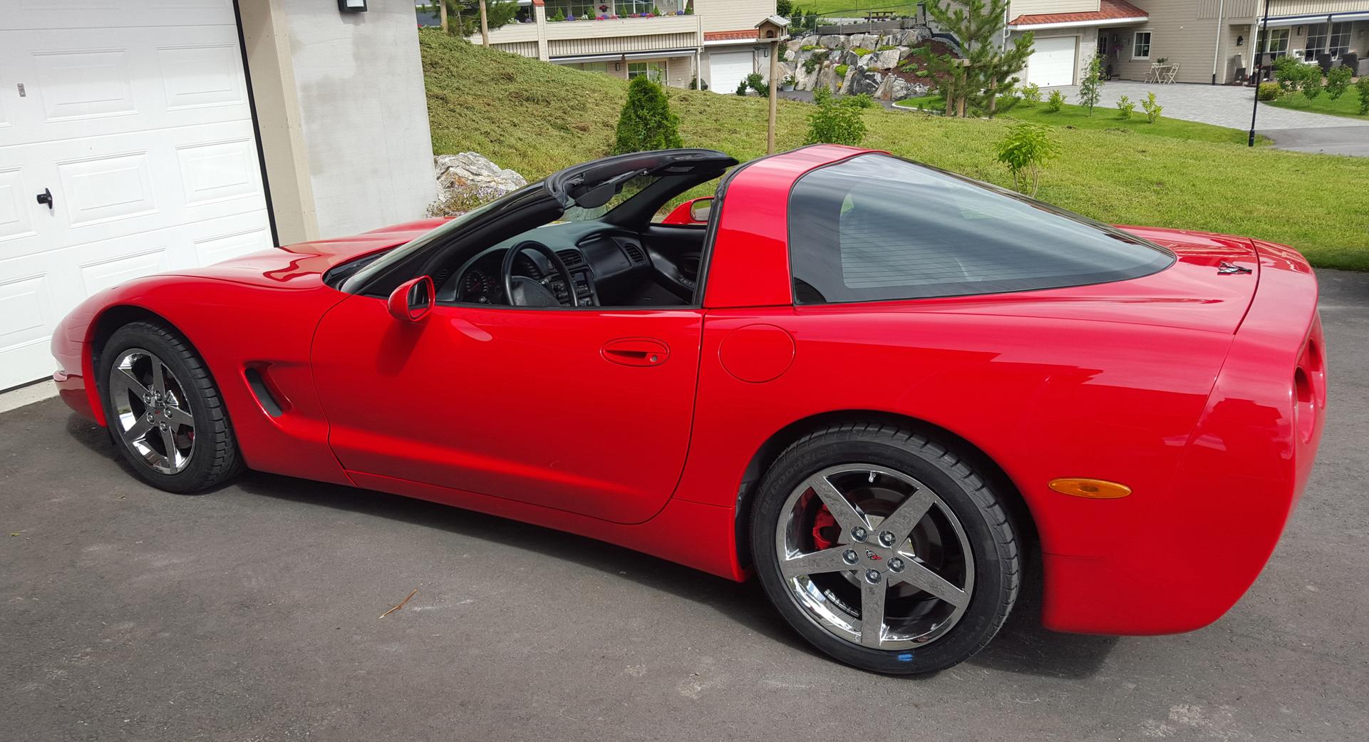 223-1998 Chevrolet Corvette01. Eier- medlem 223 Ha