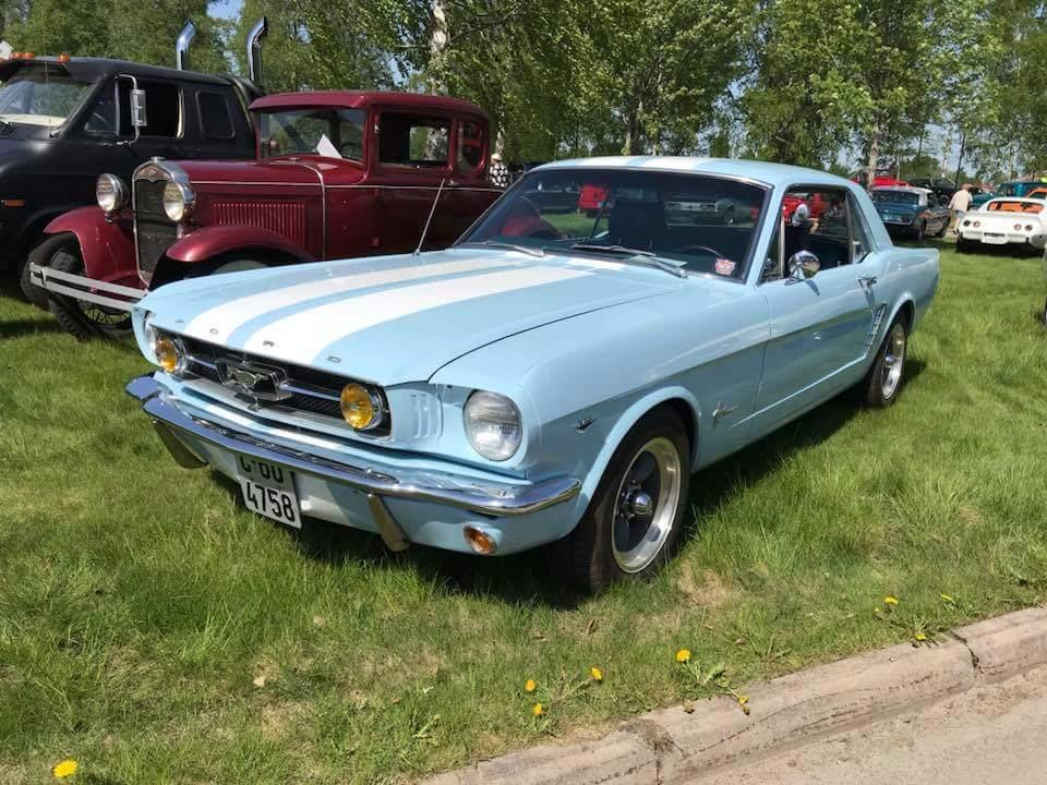 255-1964 Ford Mustang 01. Eier- medlem 255 Tom Vik