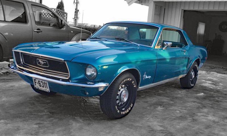 261-1968 Ford Mustang 390 GT 01. Eier- medlem 261