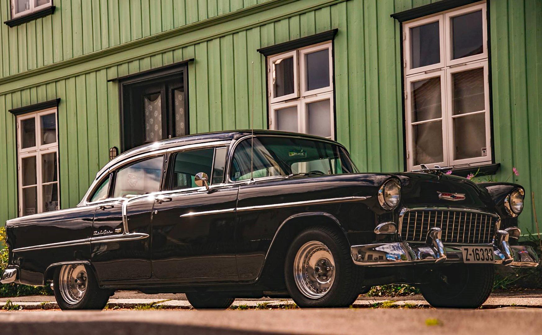 263-1955 Chevrolet Bel Air 01. Eier- medlem 263 Be