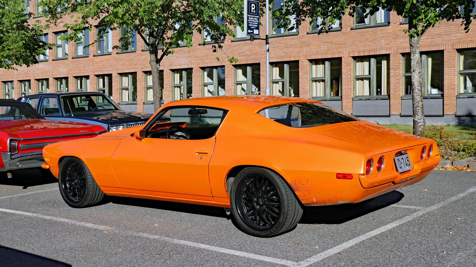 050-1970 Chevrolet Camaro 02. Eiere- medlem Randi