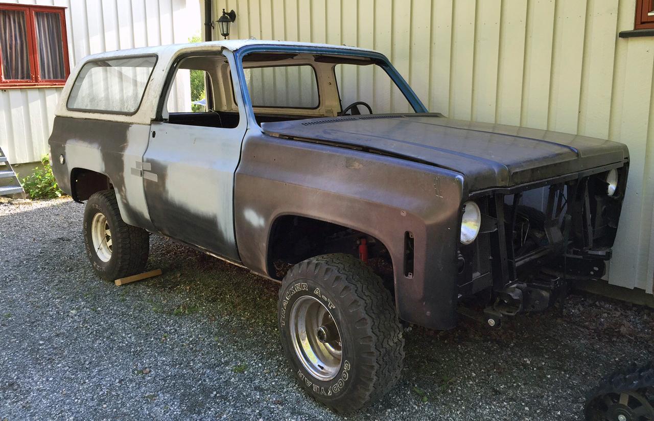 050-1973 Chevrolet K5 Blazer 01. Eiere- medlem 050