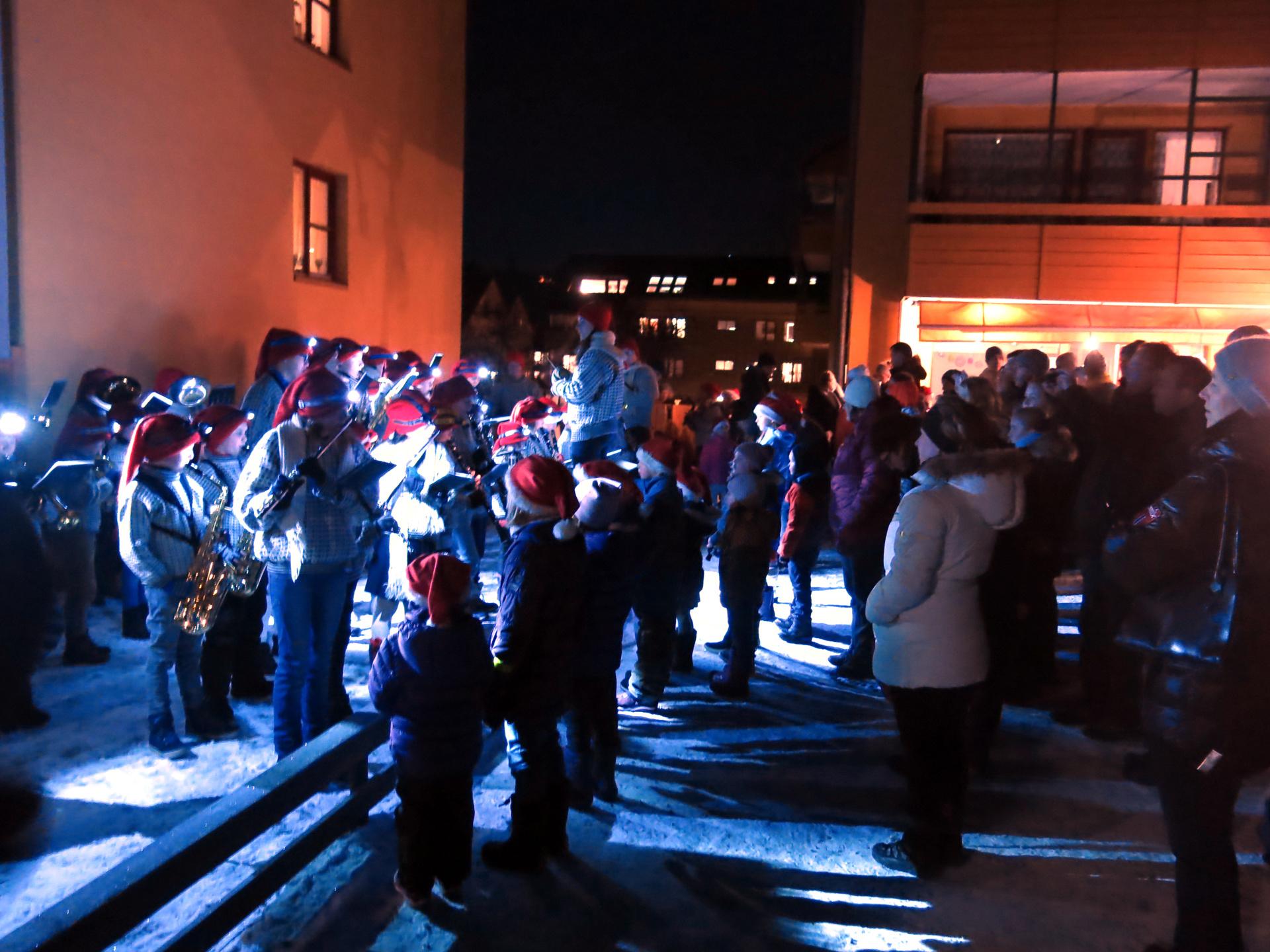 PEIK spiller på Nedre Silkestrå, advent 2017