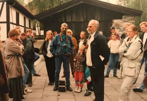 """NMCC """"Ut i det blå"""", tur til Modum og Blaafarveverket. September 1995"""