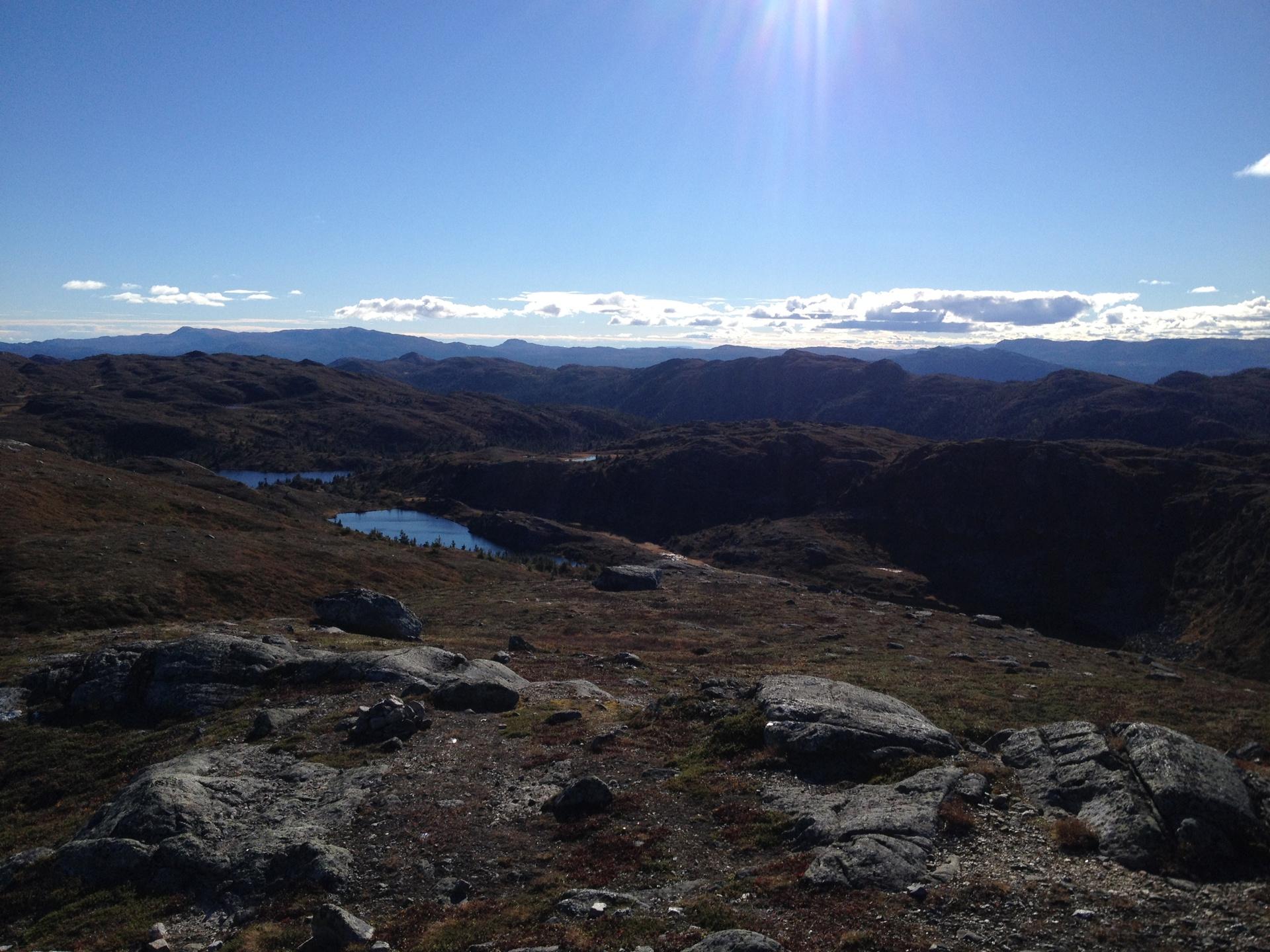 Blåfjell mot Ormevann