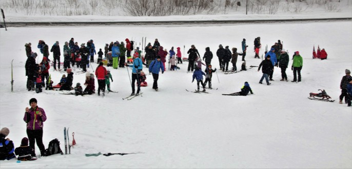 Bilder fra skidagen 11. mars som ble arrangert av BOV og Undelstad Vel.