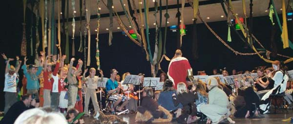 Høybråten goes Africa - konsert