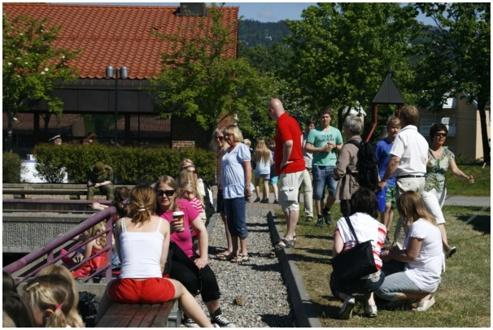 Sommeravslutning 2010 med besøk på Gardens Dag