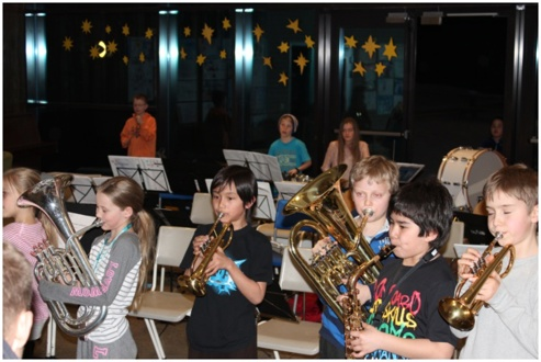 Huskonsert apsirant- og juniorkorps 22.mars 2012