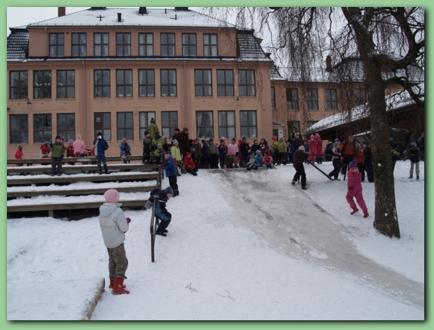 Åpning av Høybråten skole februar 2007