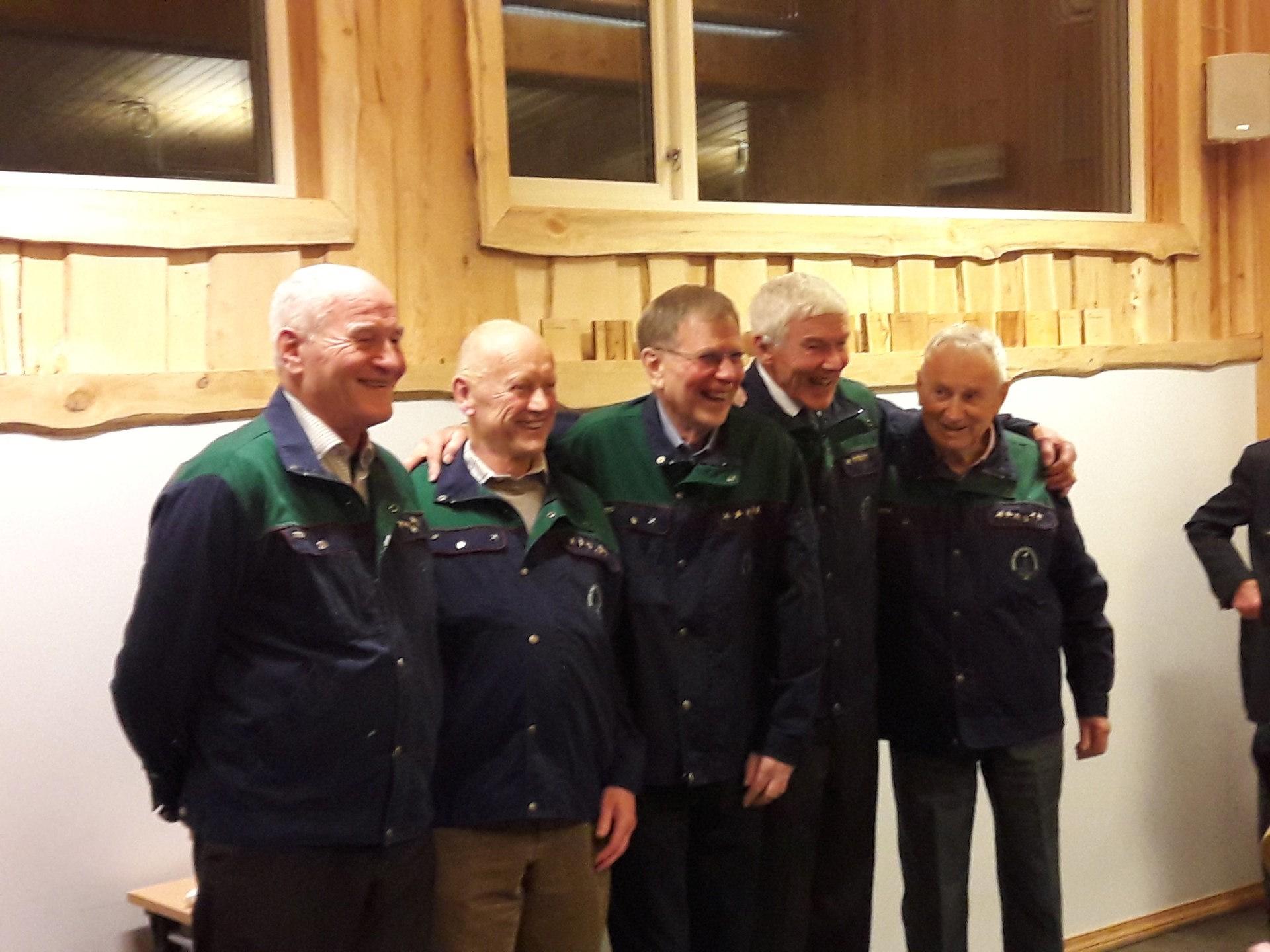 003 Dugnads veteraner med 20 år i gjengen,  2017