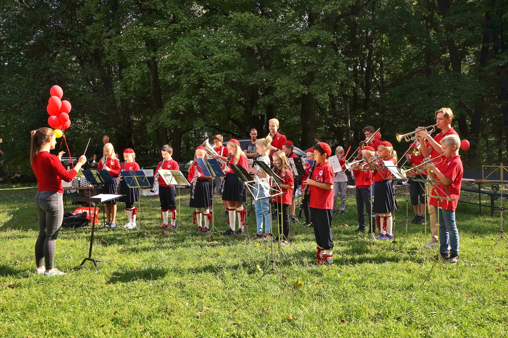 Juniorkonsert i Den Engelske Park, 2018
