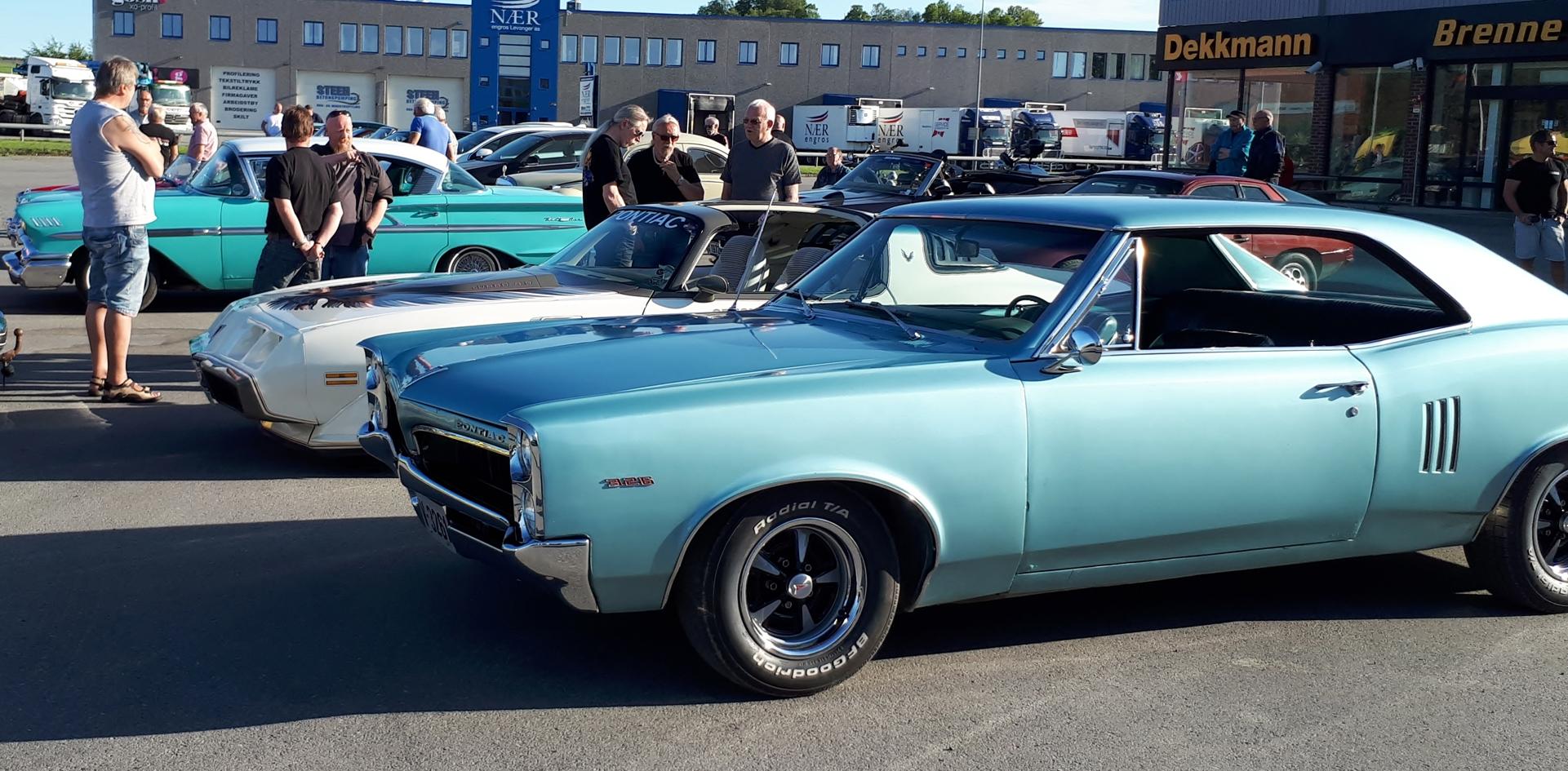 Pontiac Turbo Trans am og fremst Pontiac GTO