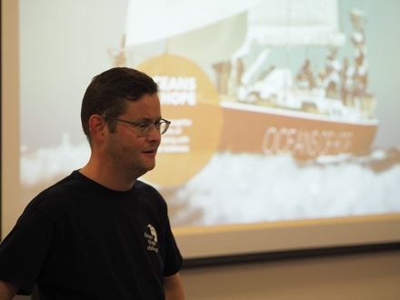 Tirsdag 8. Januar hadde vi vårt første møte for 2019. Vi hadde Besøk av Kristian Urdahl som fortalte om sin opplevelse med Seiling og MS.